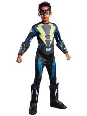 Black Lightning Child Deluxe Child Costume