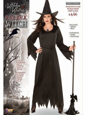 Black Magic Witch - Standard Adult Costume
