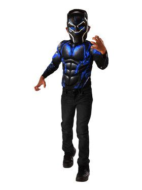 Marvel Black Panther Blue Shirt Set