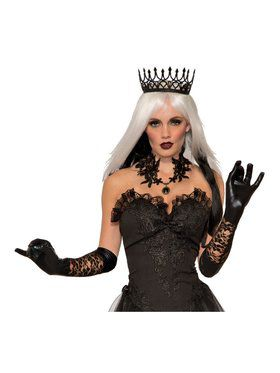 Adult Black Queen Crown