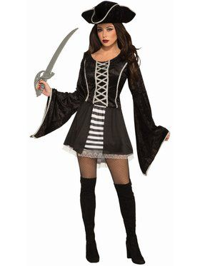 Black Seas Pirate Adult Costume