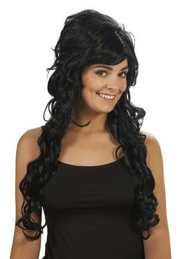 Black Starlet Adult Wig