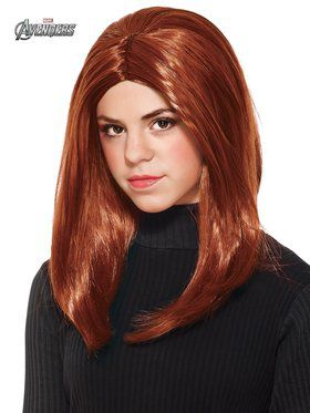 Black Widow Wig Child
