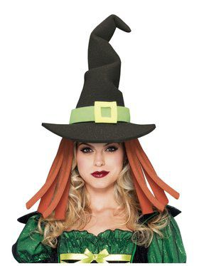 Adult Black Witch Hat