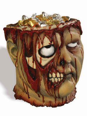 Bloody Zombie Candy Bowl