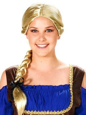 Blonde Evil Queen Adult Wig