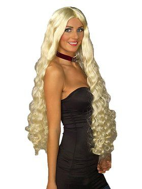 Blonde Mesmerelda Adult Wig