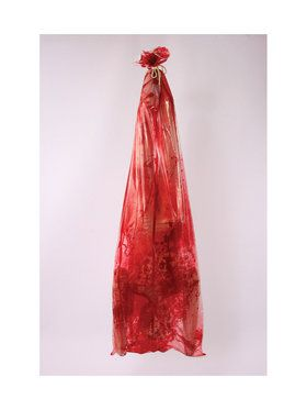 Bloody Body In Bag Prop