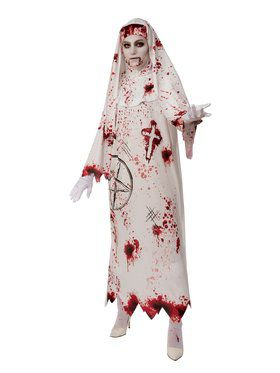Bloody Nun Adult Costume