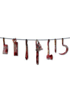 Bloody Weapon 6' Garland