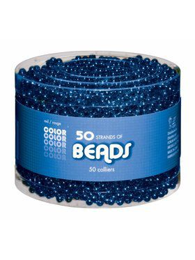 Blue Bead Necklaces-Multipack