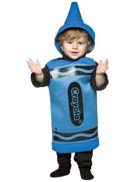 Blue Crayola Crayon Toddler Costume