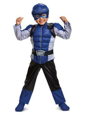 Blue Ranger Beast Morpher Toddler Muscle Toddler Costume
