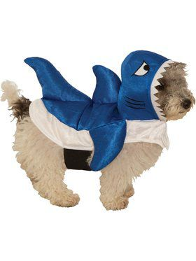 Blue Shark Costume for Pet