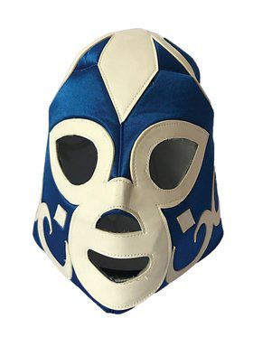 Blue Wrestling Mask