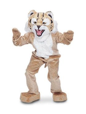 Mascot Bobcat Adult Costume