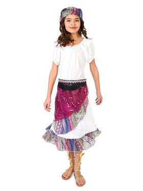 Boho Gypsy Child Costume