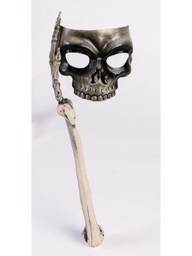 Bone and Skull Stick Mask