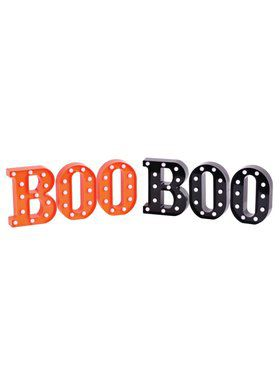 Boo Led Light Sign