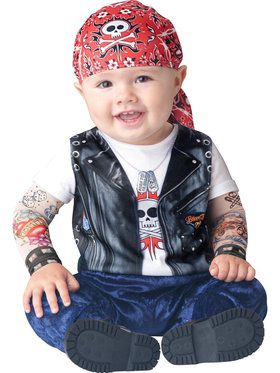 Born to be Wild Infant / Toddler Costume