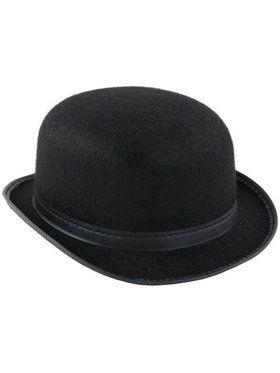 Derby Or Bowler Hat - Low Crown Permalux
