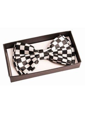 Bowtie - B/W Checkers