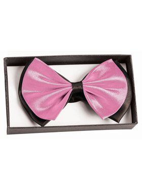 Bowtie - Black/Light Pink