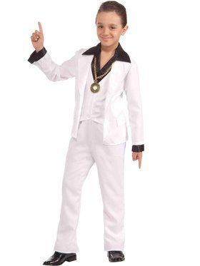 Boys 70s Disco Fever Costume