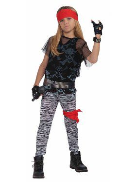 80s Rock Star Boy Costume for Kids