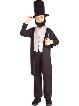 Boy's Abraham Lincoln Costume