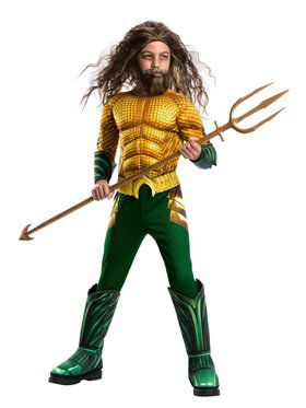 Deluxe Boys Aquaman Costume