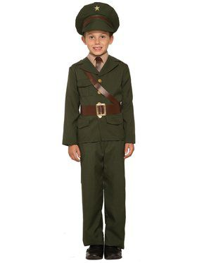 Army Officer Costume for Kids