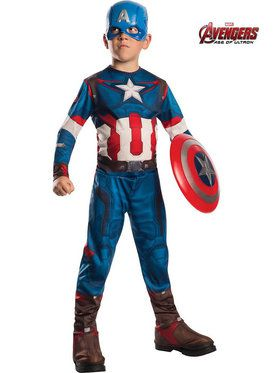 Avengers 2 Boy's Captain America Costume