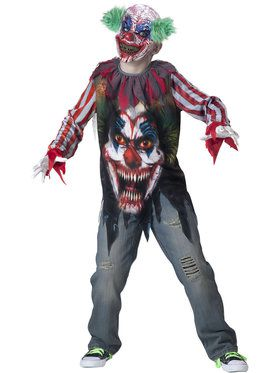 Boys Big Top Terror Costume