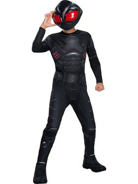 Black Manta Boys Costume