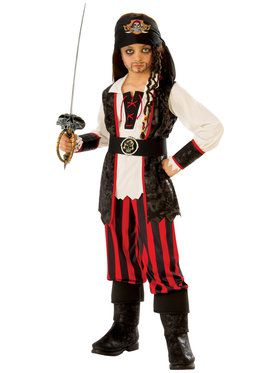 Kids Boy Pirate Costume