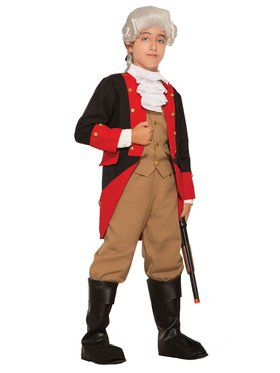 Red Coat British Costume for Kids