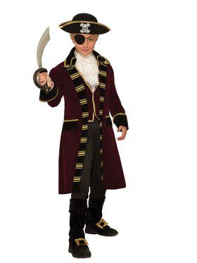 Captain Buccaneer Costume for Kids