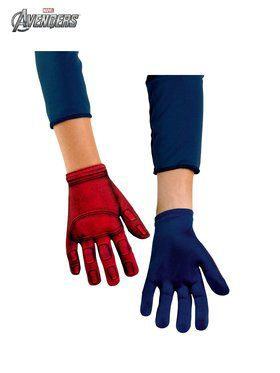 Boys Captain America Avenger Gloves
