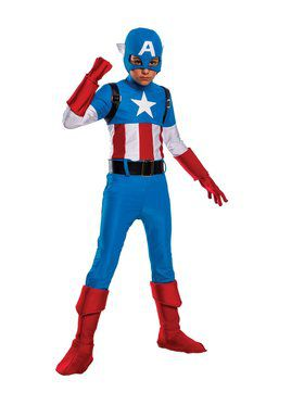 Boy's Captain America Child Costume