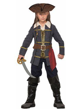 Boys Captain Cutlass Pirate Costume