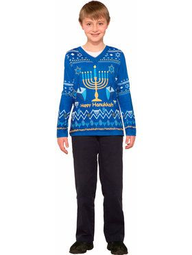 Boys Chanukah Sweater