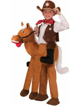 Children's Ride On Horse Costume