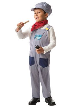 Child Old Fashioned Train Conductor Costume