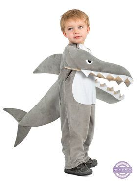 Boys Chompin' Shark Costume
