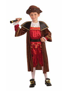 Christopher Columbus Costume for Kids