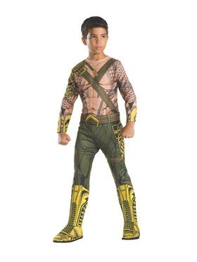 Boys Classic Aquaman Costume