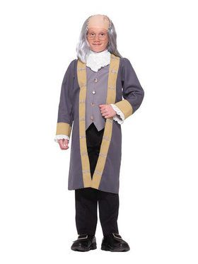 Boy's Classic Ben Franklin Costume