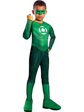 Boys Classic Green Lantern Hal Jordan Co