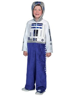Boys Classic Star Wars Premium R2D2 Costume